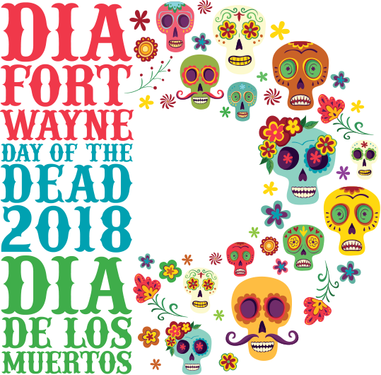 Logo for DIA (Day of the Dead) Fort Wayne 2018