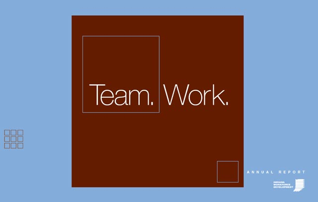 Department of Workforce Development Annual Report Cover