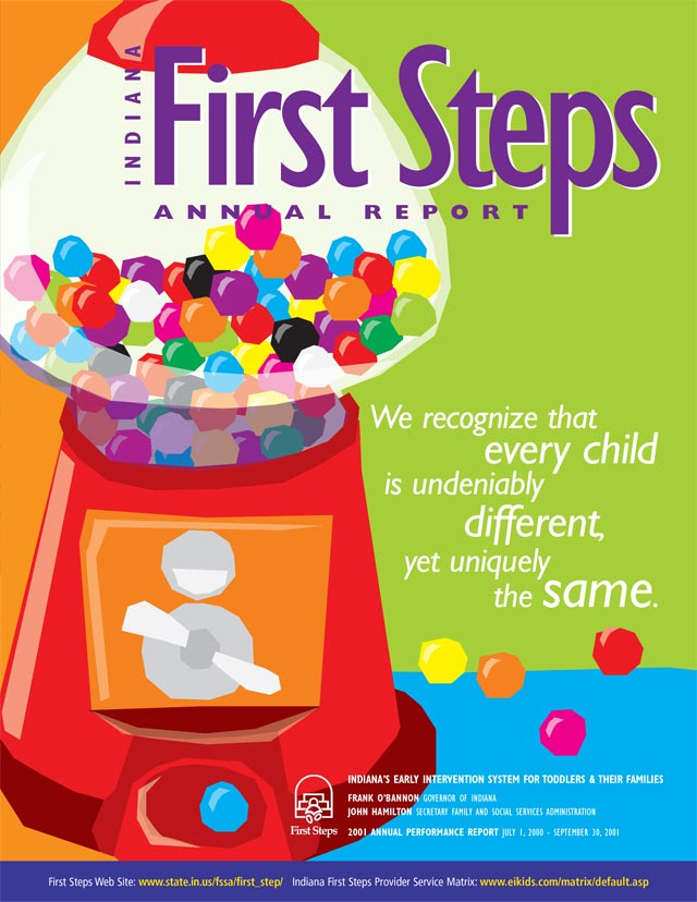 First Steps Annual Report Cover