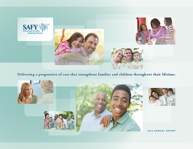 SAFY – Specialized Alternatives for Family and Youth of America 2015 Annual Report Cover