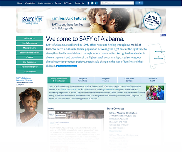 SAFY Website Interior Pages
